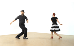 iLindy.com - Online Swing dance classes - Lindy Hop Technique Training with Kevin St Laurent & Jo Hoffberg