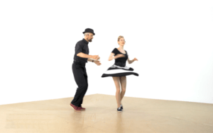 iLindy.com - Online Swing dance classes - Lindy Hop moves with Kevin St Laurent & Jo Hoffberg