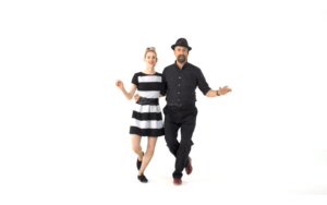 iLindy.com - Online Swing dance classes - Charleston moves with Kevin St Laurent & Jo Hoffberg