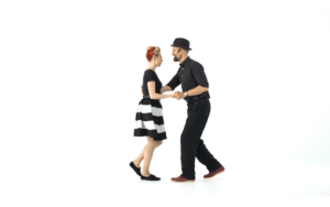 iLindy.com - Online Swing dance classes - Fast Lindy Hop Challenge with Kevin St Laurent & Jo Hoffberg