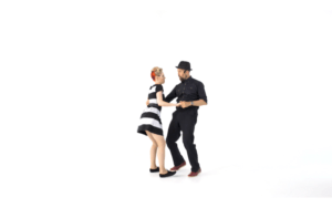 iLindy.com - Online Swing dance classes - Lindy Hop Musicality challenges with Kevin St Laurent & Jo Hoffberg