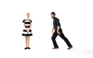 iLindy.com - Online Swing dance training - Lindy Hop Musicality challenges with Kevin St Laurent & Jo Hoffberg