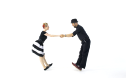 iLindy.com - Online Swing dance training - Lindy Hop Charleston challenges with Kevin St Laurent & Jo Hoffberg