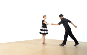 iLindy.com - Online Swing dance training - Lindy Hop Leaders styling challenges with Kevin St Laurent & Jo Hoffberg