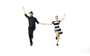 iLindy.com - Online Swing dance classes - Lindy Hop 8 count moves with Kevin St Laurent & Jo Hoffberg