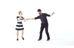 iLindy.com - Online Swing dance classes - Texas Tommy with Kevin St Laurent & Jo Hoffberg
