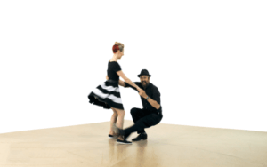 iLindy.com - Online Swing dance classes - Lindy Hop Tricks with Kevin St Laurent & Jo Hoffberg