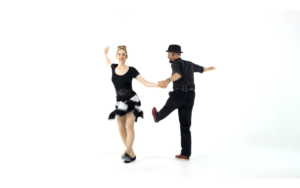 iLindy.com - Online Swing dance classes - Learn to Charleston with Kevin St Laurent & Jo Hoffberg