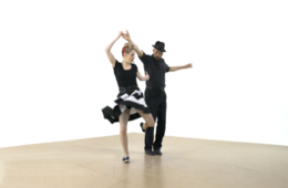 iLindy.com - Online Swing dance training - Lindy Hop moves with Kevin St Laurent & Jo Hoffberg