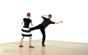 iLindy.com - Swing Dance vocabulary with Kevin St Laurent & Jo Hoffberg